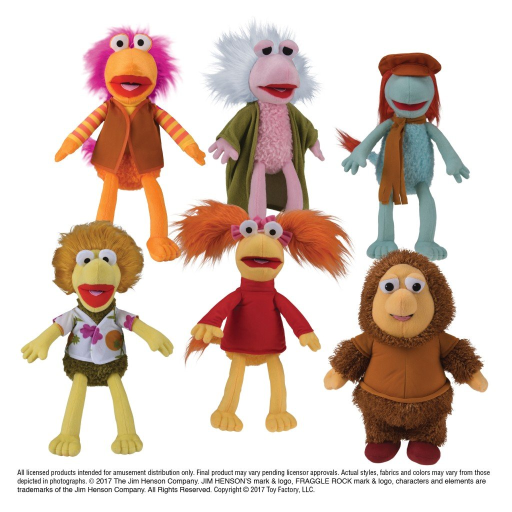 "Fraggle Rock Assorted Plush (Jumbo) 11"" ($5.69/EA DELIVERED)"