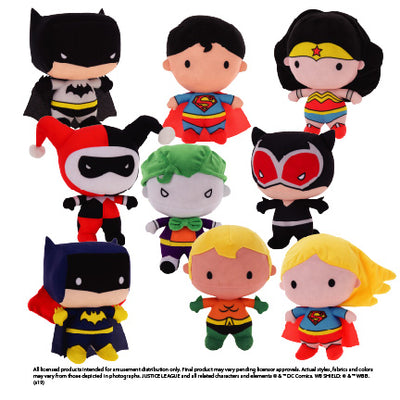 DC Chibi Series Plush (Jumbo) ($5.25/EA DELIVERED) **AVAILABLE FOR PURCHASE 2/15**