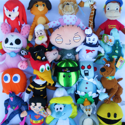 100% Licensed Plush Mix (Medium)  9-12
