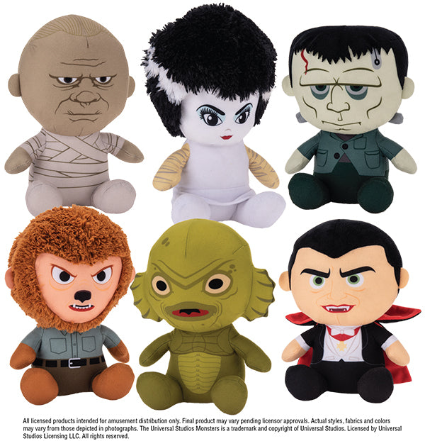 "Universal Monsters Small Plush 8"" $3.09/ea Delivered (Full Case)"