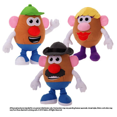 Mr. Potatohead Assorted Plush (Small)
