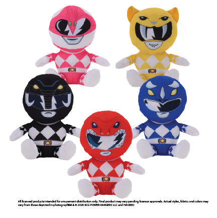 Power Rangers Assorted Plush (Small)