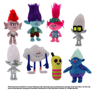 "Trolls Assorted Plush (Small) 8-10"" ($3.50/EA DELIVERED)"