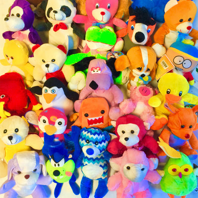26% Licensed Plush Mix (Small) 7-9