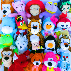 "25% Licensed Plush Mix (Medium)  9-12"" ($2.49/EA DELIVERED)"