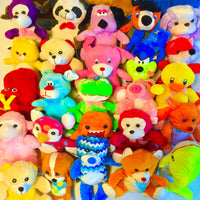 "10% Licensed Plush Mix (Small) 7-9"" ($1.40/EA DELIVERED)"