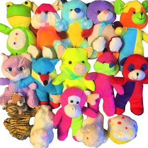 "100% Generic Bargain Plush Mix (Small) 7-9"" ($1.05/EA DELIVERED)"