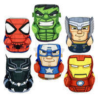 "Avengers Stackable Tiki Heads Plush (Jumbo) 8"" ($4.99/EA DELIVERED)"