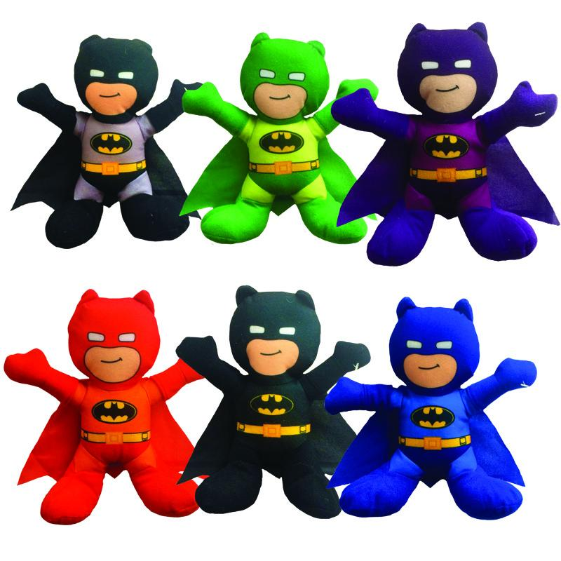 "Batman Assorted Colors Plush (Small)  9"" ($3.10/EA DELIVERED)"