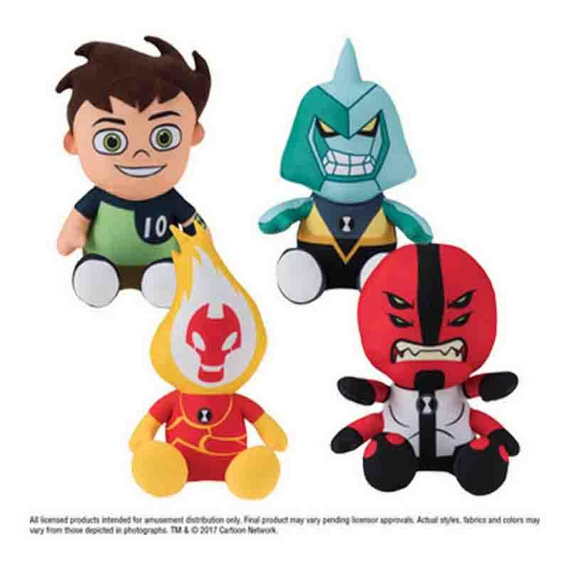 "Ben 10 Plush (Small) 7-8"" ($3.10/EA DELIVERED)"