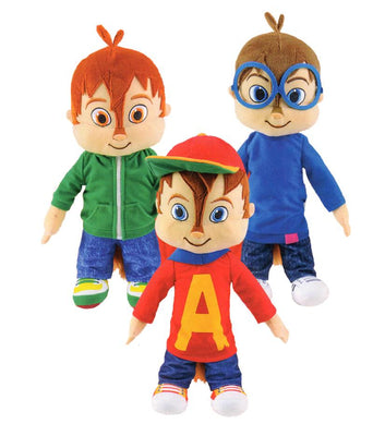 Alvin and the Chipmunks Plush (Small) 8.5