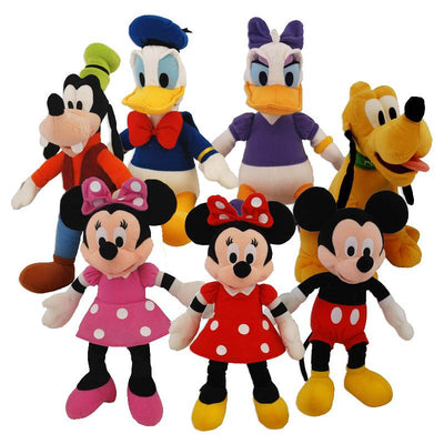 Disney Plush Assorted Mix  (Small) 9
