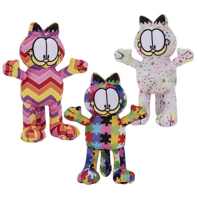 Garfield Crazy Patterns Plush (Small) 9
