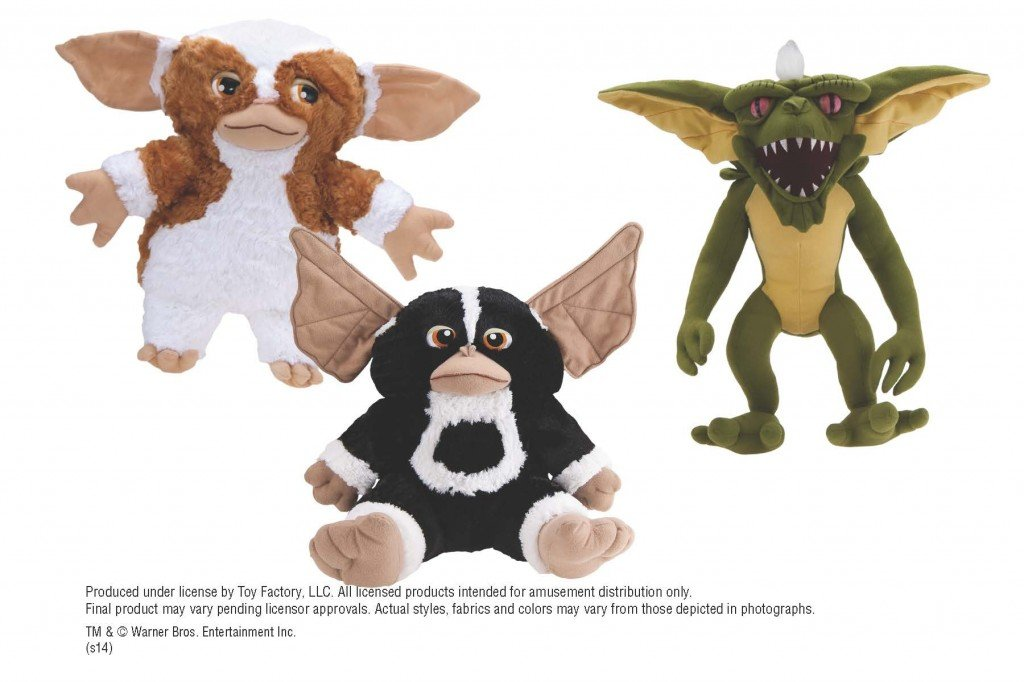 "Gremlins 3 Assorted Plush (Jumbo) 9-11"" ($5.15/EA DELIVERED)"