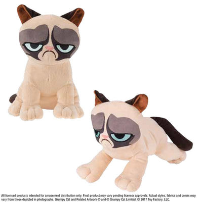 Grumpy Cat Plush (Jumbo) 10