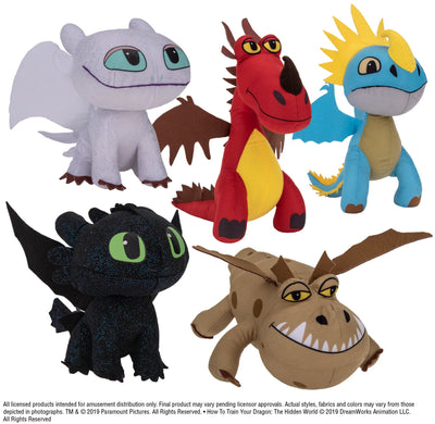 How to Train Your Dragon Plush (Small) 7-9