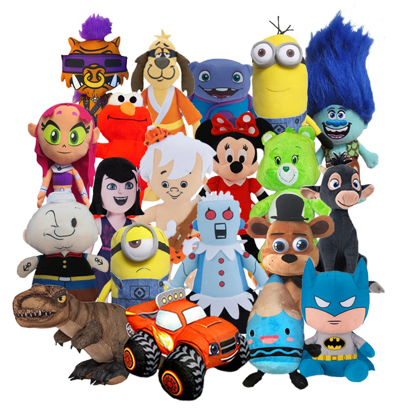 100% Licensed Plush Mix (Jumbo) ($5.05/EA DELIVERED)