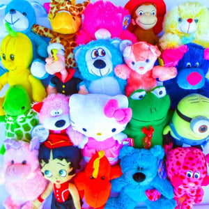 "50% Licensed Generic Bargain Plush Mix (Jumbo) 11-17"" ($3.72/EA DELIVERED)"