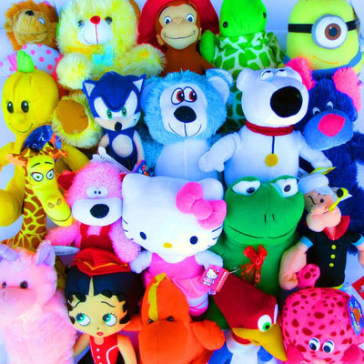 50% Licensed Plush Mix (Jumbo)  11-17
