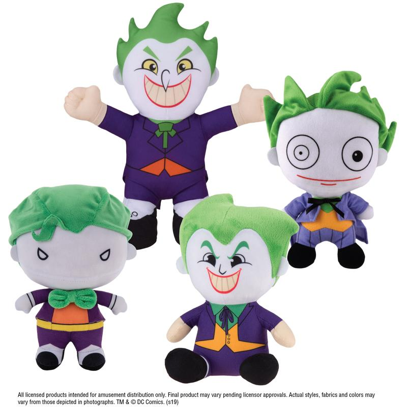 "Joker Assorted Plush (Small) 7-9"" ($3.50/EA DELIVERED)"