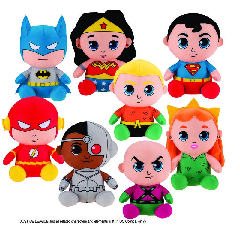 "DC Justice League Assorted Plush (Jumbo) 10"" ($5.45/EA DELIVERED)"