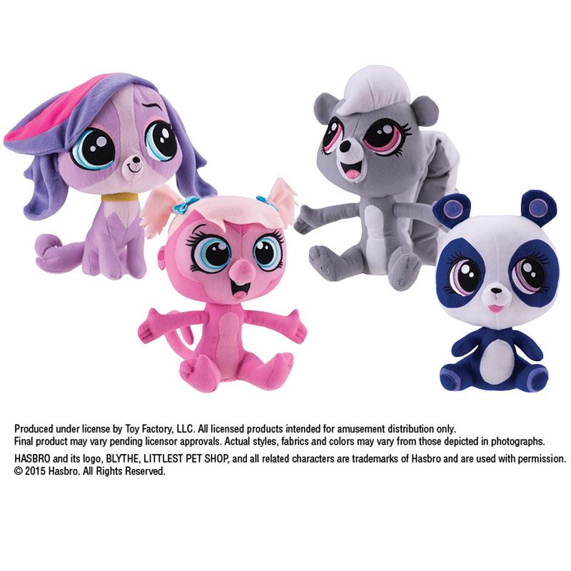 Littlest Pet Shop Plush (Small)