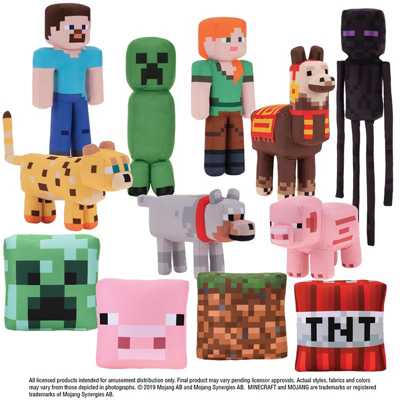 MineCraft Assorted Plush (Jumbo)