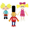 Nickelodeon 90's Hey Arnold 3 Assorted Mix Plush (Small)