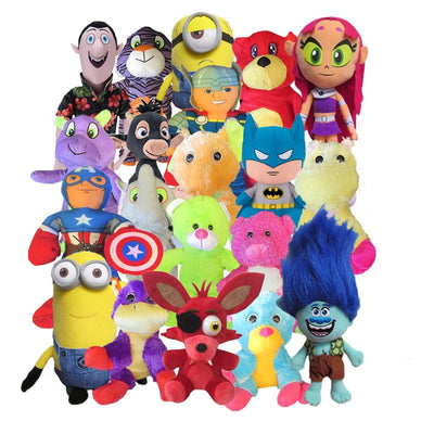 50% Licensed Premium Plush Mix (Jumbo) 11-17