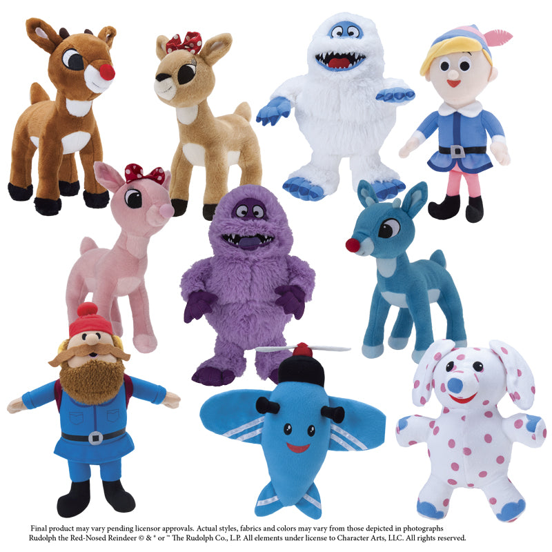 Rudolph Christmas Characters Plush (Jumbo) ( *TAKING PRE-ORDERS NOW*)