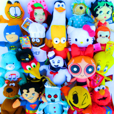 100% Licensed Plush Mix (Small) 7-9