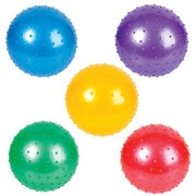 "Knobby Balls Assorted Colors (Jumbo) 7"" ($.67/PCS DELIVERED)"