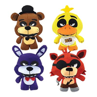 "Five-Nights-At Freddy's Standing Fazbears Pizza Assorted Plush (Jumbo) 10"" ($5.49/EA DELIVERED)"