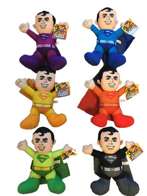 Superman Assorted Colors Plush (Small)