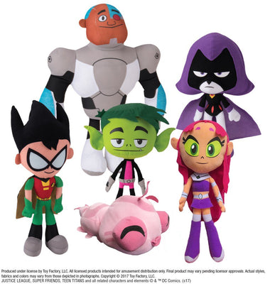Teen Titans Go! Assorted Plush (Small)