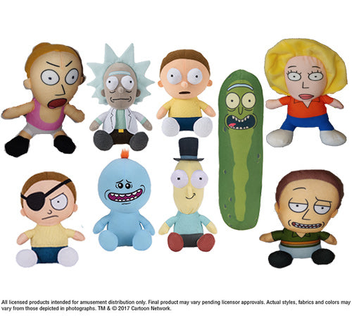 Rick and Morty Plush (Small)