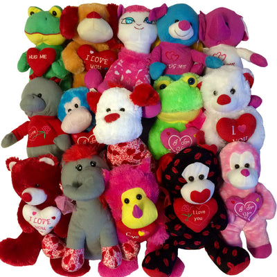 Valentine's Day Plush Mix (Jumbo) 11-17
