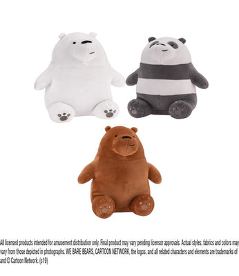 We Bare Bears Plush (Small)