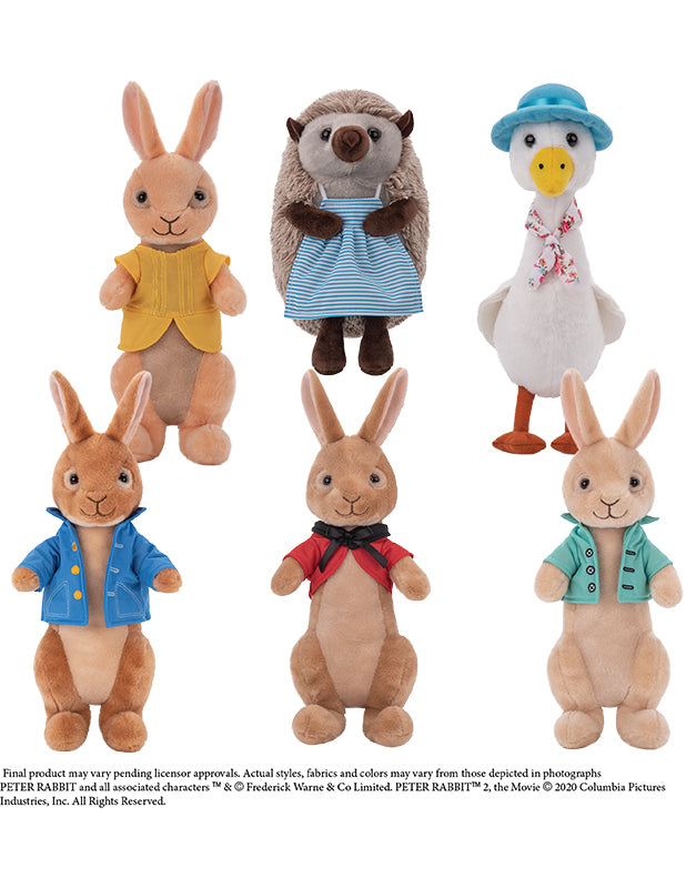 "Peter Rabbit Assorted Characters (Jumbo) 8-13"" ($5.70/EA DELIVERED)"