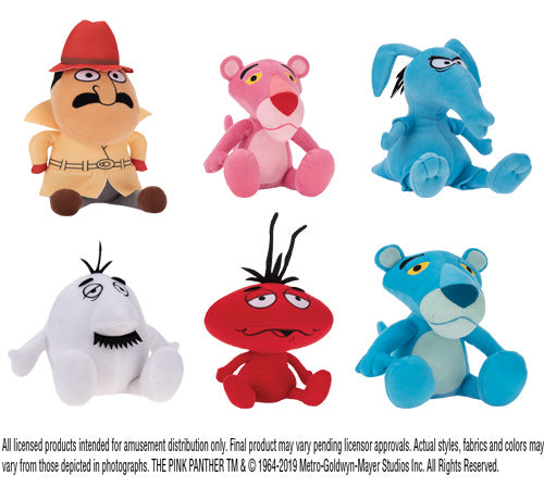 Pink Panther Assorted Plush (Small)