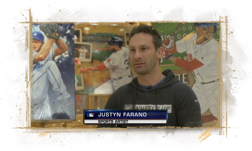 2018 World Series with Justyn Farano with MLB Network