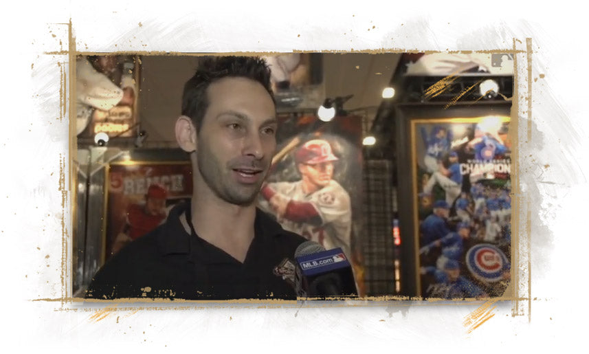 Farano Talks Art at 2017 MLB All-Star Game FanFest