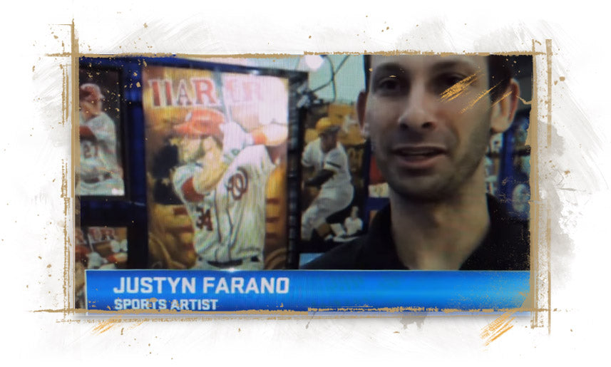 Justyn Farano at 2016 MLB All-Star Fan Fest