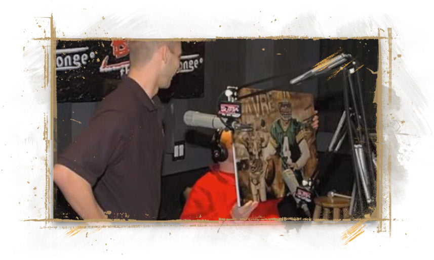 Painter Justyn Farano Interview on Bubba The Love Sponge radio, May 8, 2012