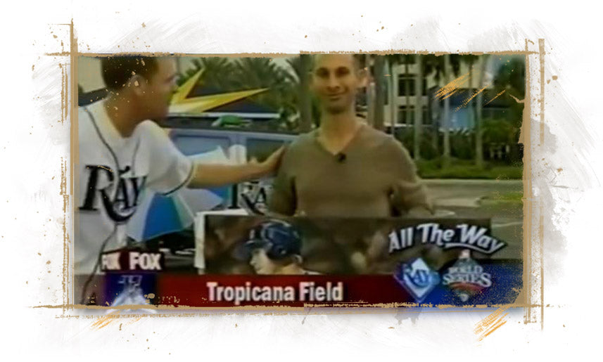 Fox 13 Tampa Bay Interview on Good Morning Show during 2008 World Series