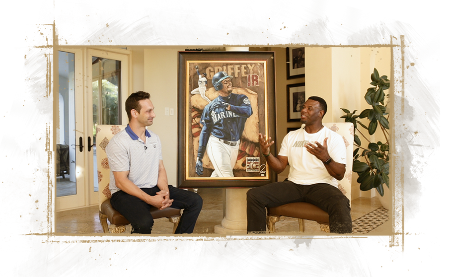 MLB Hall of Famer Ken Griffey Jr and Justyn Farano Discuss Baseball and Art