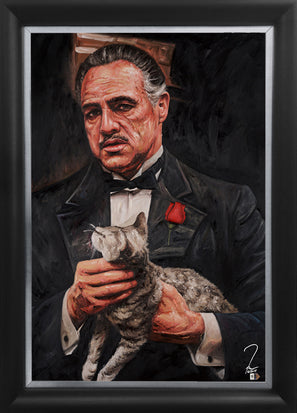 "the godfather, ""an offer you can't refuse"" 30x45 orig"