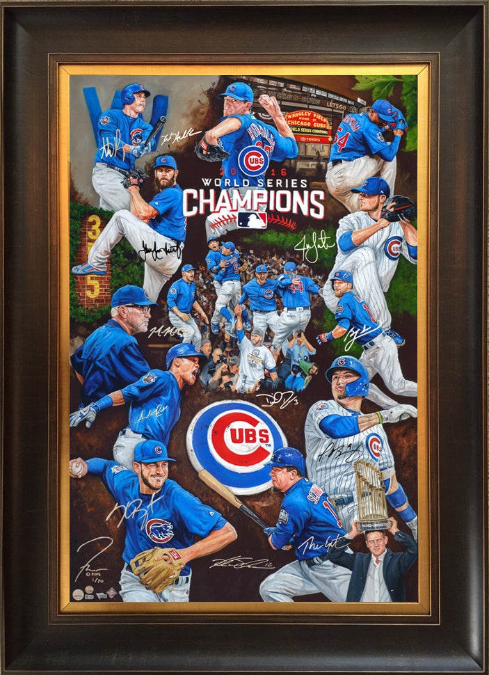Chicago Cubs 2016 WS Champs,