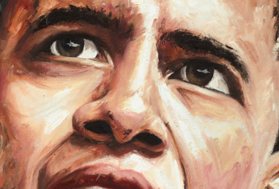 "barack obama, ""a new beginning"" 24x36 orig"