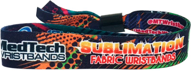 All Fabric Sublimation Wristbands
